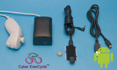 Cyber EcerCycle Kit for Android or PC
